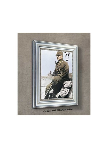 Artikel Atatürk-11 Kanvas Tablo 50X70 Cm Renkli